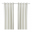 MERETE Curtains, 1 pair