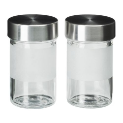 DROPPAR Recipiente vidrio para especias