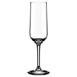 HEDERLIG Copa de vidrio para cava, 22cl