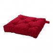 MALINDA Cojín para silla rojo