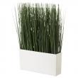 FEJKA Planta artificial hierba en tiesto