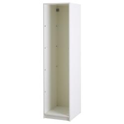 4 x PAX Estructura armario  blanco