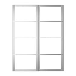 1 x PAX AULI Riel para puertas correderas 150x236