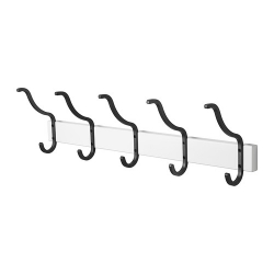HJÄLMAREN Toallero con 5 ganchos