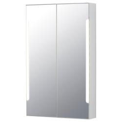 1 x STORJORM Arm espejo 2 pt/ilum integrada