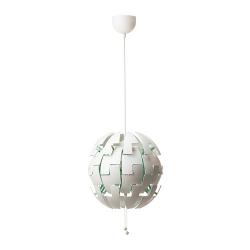 IKEA PS 2014 Lámpara de techo Ø35cm blanco/turquesa