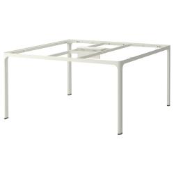 1 x BEKANT Estructura para tablero mesa reuniones 140x140 cm blanco