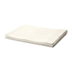 GULLMAJ Mantel blanco, 4-6 comensales