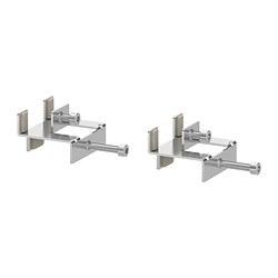 2 x LINNMON Herraje conexión para tablón/estantería