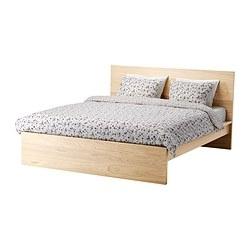 1 x MALM King bed frame