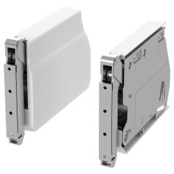 2 x UTRUSTA Bisagra grande p/puerta horizontal