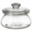 VARDAGEN Recipiente vidrio con tapa, 0.3lt