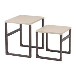 RISSNA Juego de mesas, 2 piezas