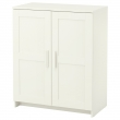 BRIMNES Cabinet with doors, white