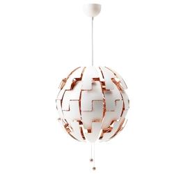 IKEA PS 2014 Lámpara de techo Ø52cm blanco/cobrizo
