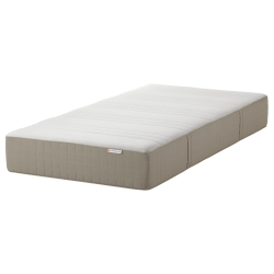 HAUGESUND Twin sprung/foam mattress medium firm