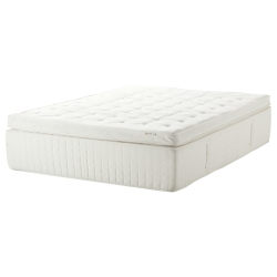 HOLMSBU Queen sprung/memory & gel mattress medium firm