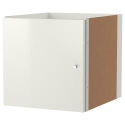 KALLAX Accesorio con puerta, blanco brillante
