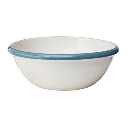 FINSTILT Bol de cerámica, Ø 12 ½