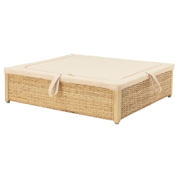 RÖMSKOG Caja de almacenaje para cama