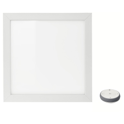 FLOALT Panel luz LED 30x30cm + mando a distancia