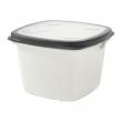 IKEA 365+ Recipiente plástico con tapa, 1.5lt