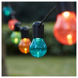SOLVINDEN Guirnalda LED 12 bombillas