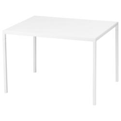 NYBODA Mesa centro tablero reversible blanco/gris