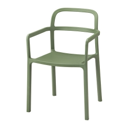 YPPERLIG Silla con reposabrz int/ext