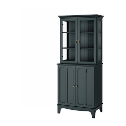 LOMMARP Cabinet with glass doors