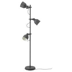 HEKTAR Lámpara de piso+3 focos