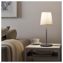 SKAFTET Pie para lámpara de mesa niquelado E14