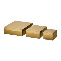 VINTER 2019 Cajas de regalo, juego de 3