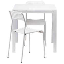 MELLTORP Mesa y dos sillas