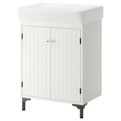 SILVERÅN Armario para lavamanos+2 puertas