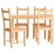 INGO/IVAR Mesa con 4 sillas