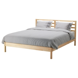 TARVA Cama Queen + tablillas Lönset
