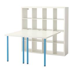 KALLAX Combinación de escritorio