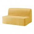 LYCKSELE HÅVET Sofá cama 2 plazas colchón espuma/látex