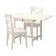 INGATORP Mesa y dos sillas