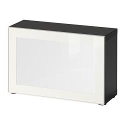 BESTÅ/SURTE Estantería con puerta LED