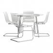 SALMI/TOBIAS Mesa con 4 sillas
