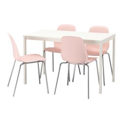 VANGSTA/LEIFARNE Mesa con 4 sillas