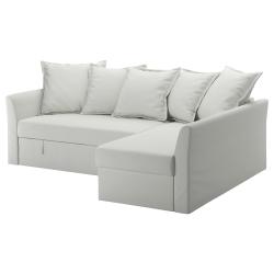 HOLMSUND Sofá cama de esquina
