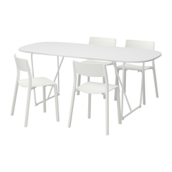 OPPEBY/BACKARYD/JANINGE Mesa con 4 sillas