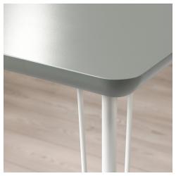 ÅMLIDEN/KRILLE Mesa de escritorio 120x60 cm con ruedas
