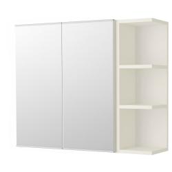 LILLÅNGEN Armario espejo&2 puertas/1 balda