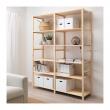 IVAR Estructura almacenaje 174x50x226 cm con estantes