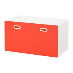 STUVA/FRITIDS Banco con almacenaje juguetes