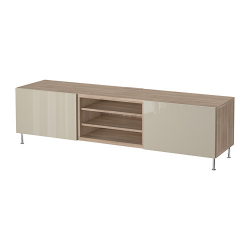 BESTÅ TV bench with drawers
